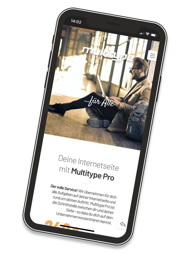 Multitype Pro Internetseite