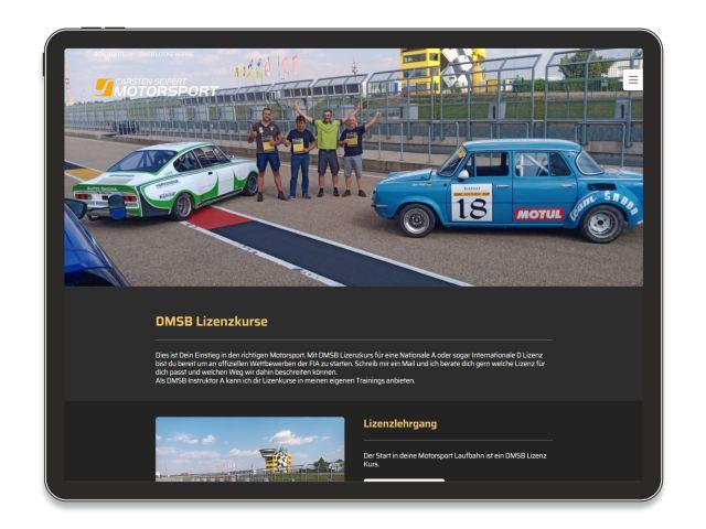 Referenz Sportwagen Training
